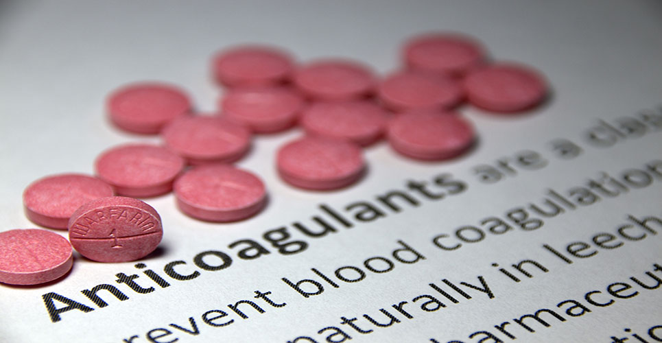 Outpatient management of anticoagulation therapy