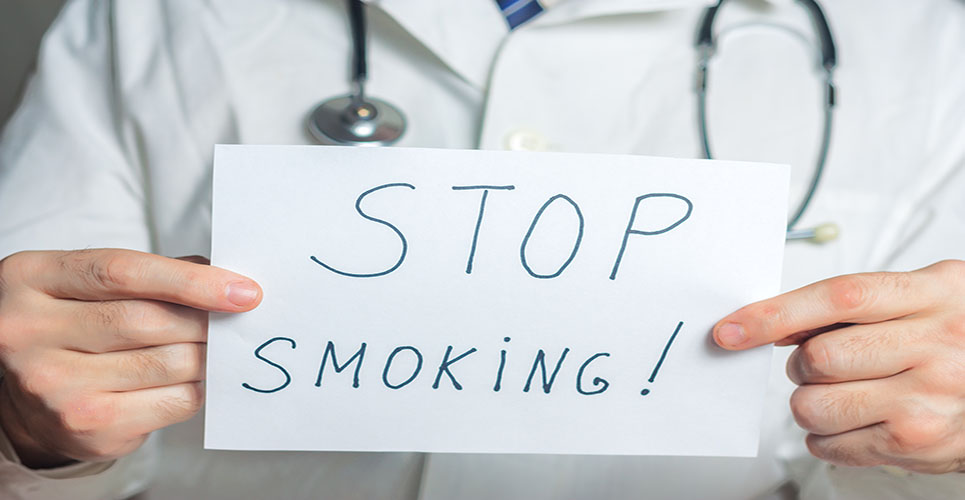 Promoting smoking cessation in the hospital