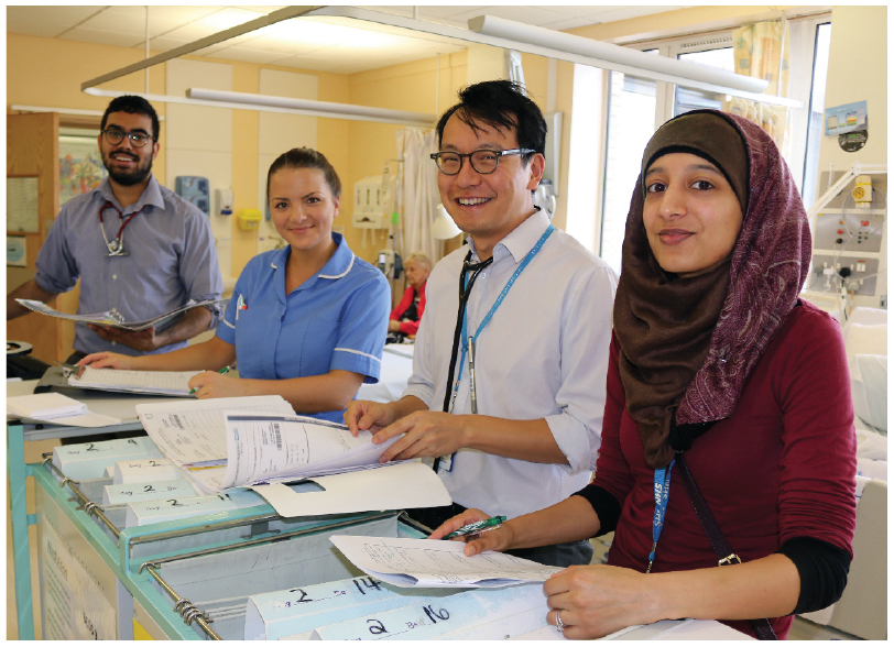 Dedicated ward pharmacists make an impact