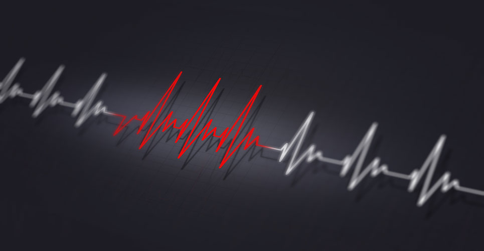 What should people do if they experience a fast heartbeat?