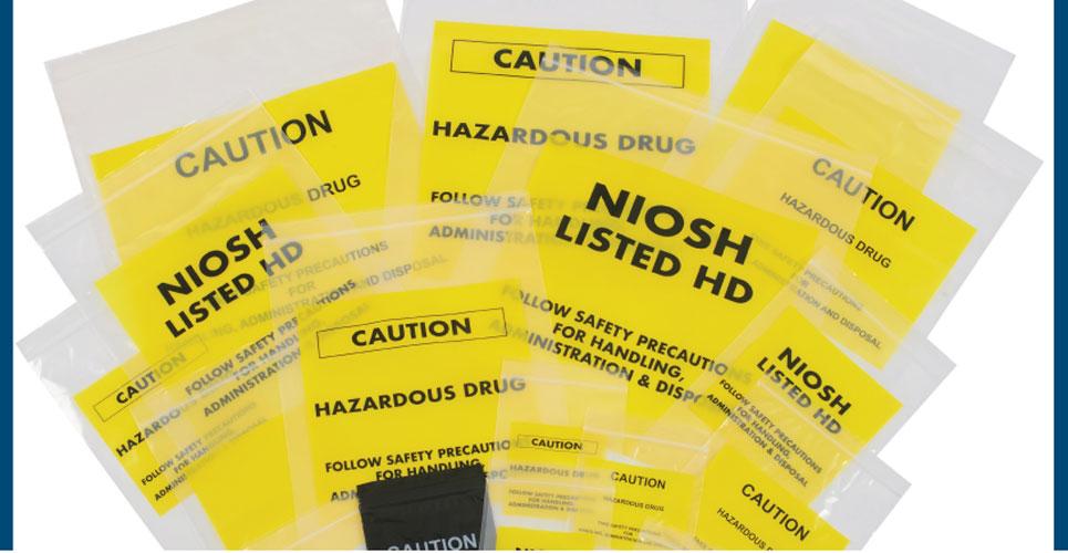 New line of hazardous drug bags announced