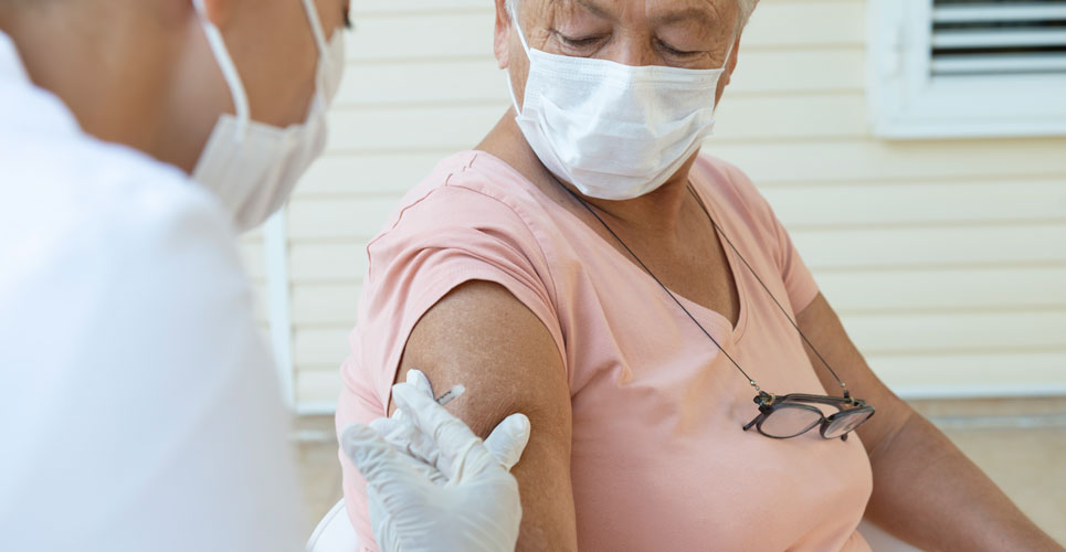 influenza vaccination and risk of COVID