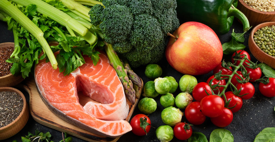 high quality diet and covid