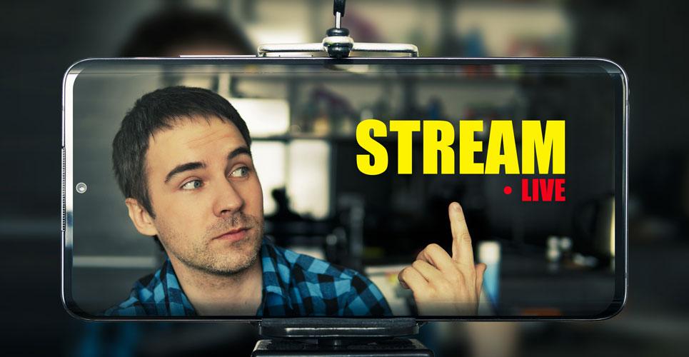 live video stream