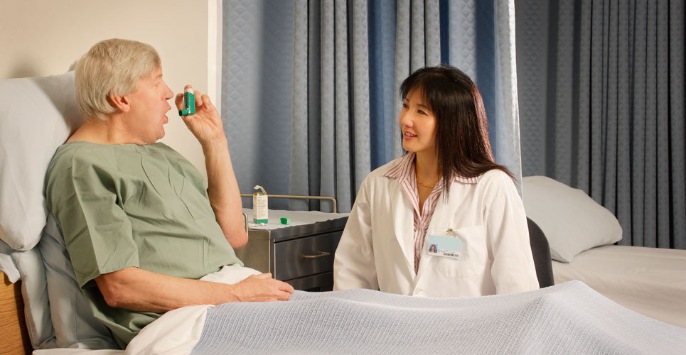 Pharmacy inhaler service